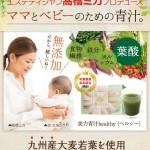 高橋ミカ開発 葉酸(栄養機能食品)・国産大麦若葉配合【美力青汁healthy】